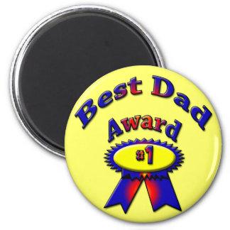 Best Dad Award Magnet