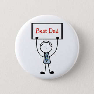 """Best Dad"" Badge/Pin/Button Button"