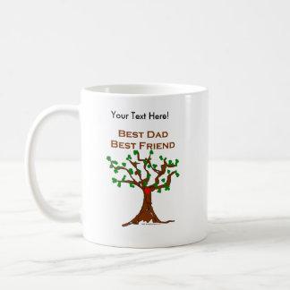 Best Dad Best Friend Classic White Coffee Mug