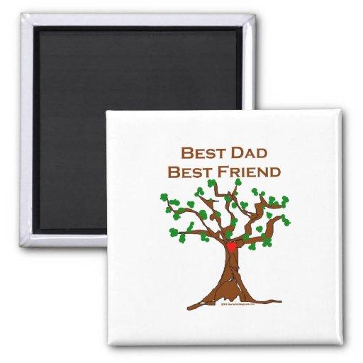 Best Dad Best Friend Fridge Magnets