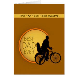Best Dad Bike Ride Card