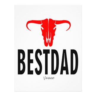 Best Dad Daddy & Bull by Vimago Letterhead