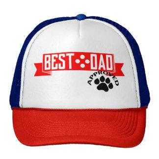 Best Dad Dog Approved Hat