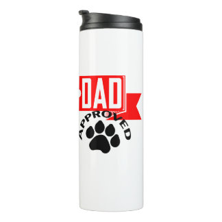 Best Dad Dog Approved Thermal Tumbler