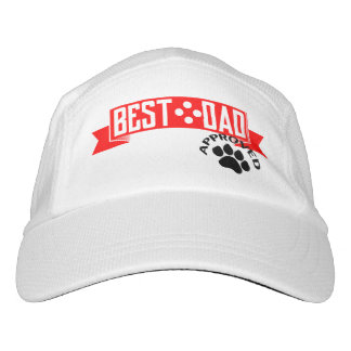 Best Dad Dog Approved white Hat