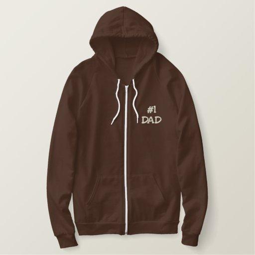 Best Dad Embroidered Hoodie