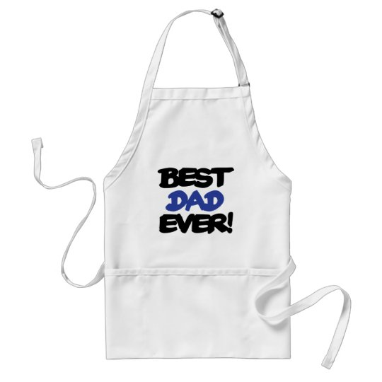 Best Dad Ever Adult Apron