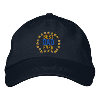 Best Dad Ever All Star SuperDad Embroidery Cap
