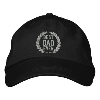 Best Dad Ever All Star SuperDad Embroidery Embroidered Baseball Hat