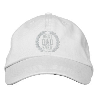 Best Dad Ever All Star SuperDad Embroidery Embroidered Baseball Cap