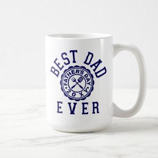Best Dad Ever Basic White Mug