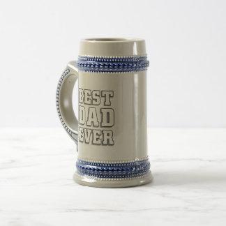 Best Dad Ever Beer Stein