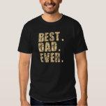 Best Dad Ever (Beige) T Shirt