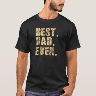 Best Dad Ever (Beige) T-Shirt