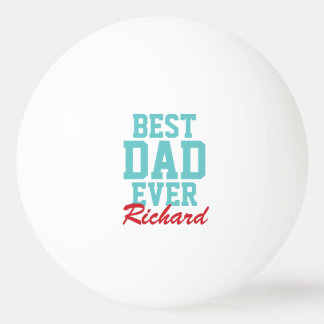 Best Dad Ever Christmas Photo Ping Pong Balls