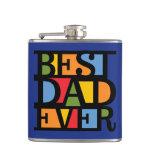 BEST DAD EVER custom flask