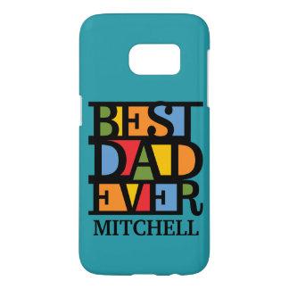 BEST DAD EVER custom monogram cases