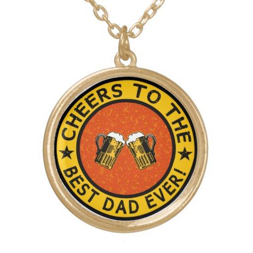 BEST DAD EVER custom necklace