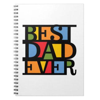 BEST DAD EVER custom notebook