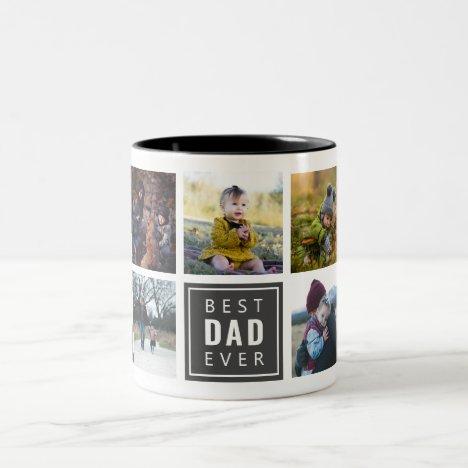 Best DAD Ever Custom Photo Mug