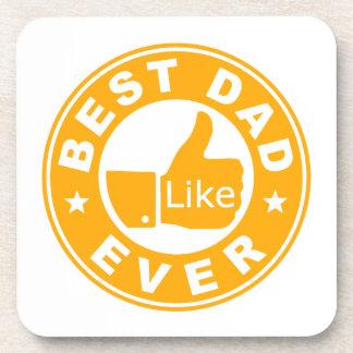 Best Dad Ever Drink Coaster