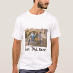 """Best Dad Ever Family Photo T-Shirt<br><div class=""""desc"""">Show your pops how special he is with this """"Best Dad Ever"""" photo t-shirt. With easy to use templates, this shirt is great for Dad's birthday, Father's Day, holidays or any occasion just to let him know that you care. Customize your t-shirt today! Stock Photography © Storytree Studios, Stanford, CA...</div>"""