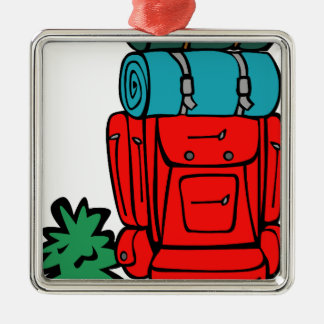 best dad ever father pops papa parent camp hike square metal christmas ornament