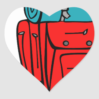 best dad ever father pops papa parent camp hike heart sticker