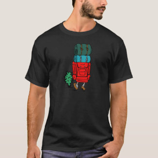best dad ever father pops papa parent camp hike T-Shirt