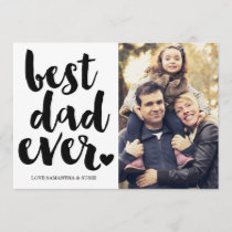BEST DAD EVER | FATHERS DAY CARD