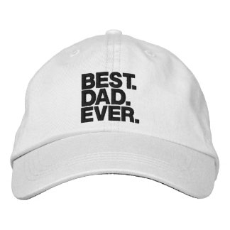 BEST. DAD. EVER. Father's Day Funny hat for Dad