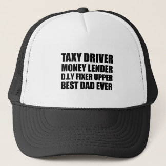 Best dad ever Father's day gift Trucker Hat