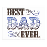 Best Dad Ever Father's Day Gifts Post Card