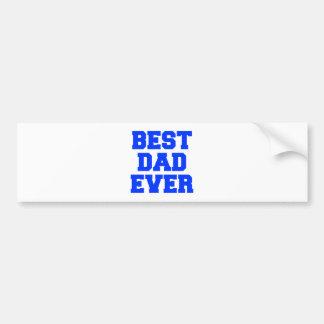best-dad-ever-fresh-blue.png car bumper sticker