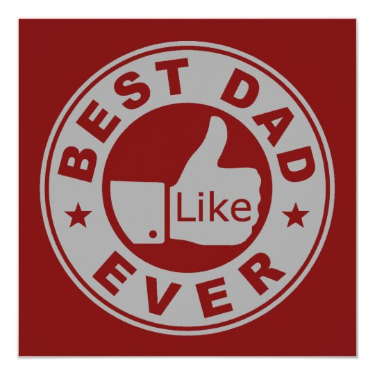 Best Dad Ever - Grey Card