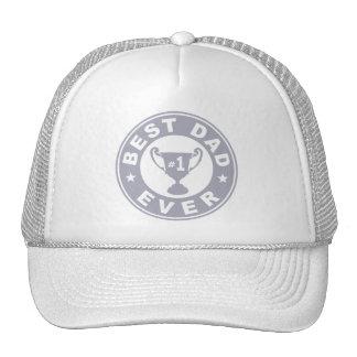 Best Dad Ever Trucker Hats