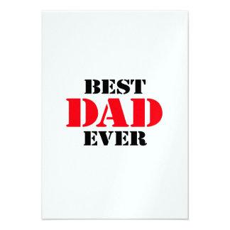 Best Dad Ever Custom Announcements
