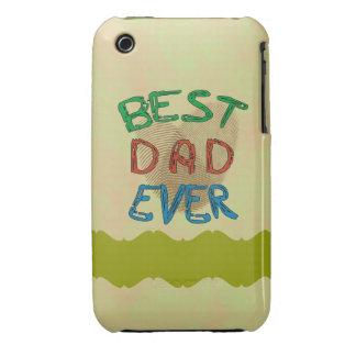 BEST DAD EVER iPhone 3 Case-Mate Case