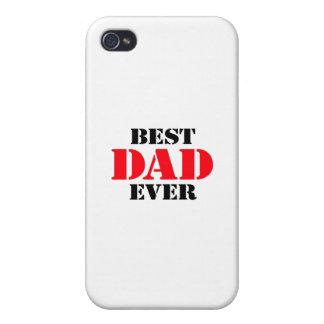Best Dad Ever iPhone 4 Cases