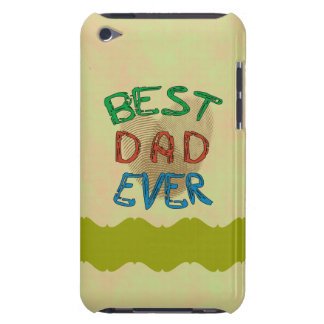 BEST DAD EVER iPod Touch Case-Mate Case