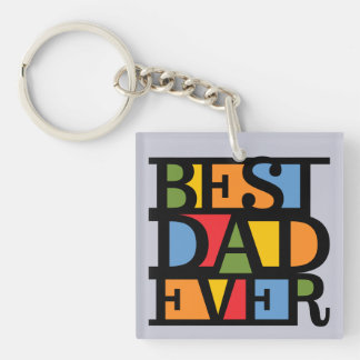 BEST DAD EVER key chain