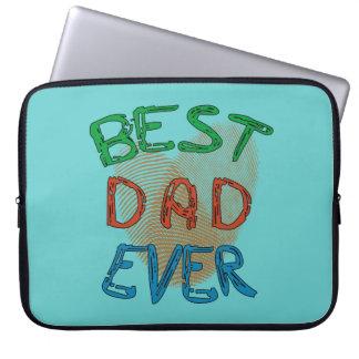 BEST DAD EVER Laptop Sleeve