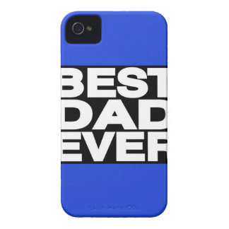 Best Dad Ever Lg Blue iPhone 4 Cases