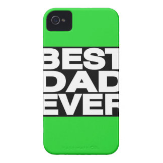 Best Dad Ever Lg Green iPhone 4 Case-Mate Case