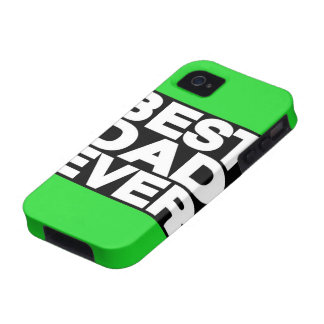 Best Dad Ever Lg Green Case For The iPhone 4