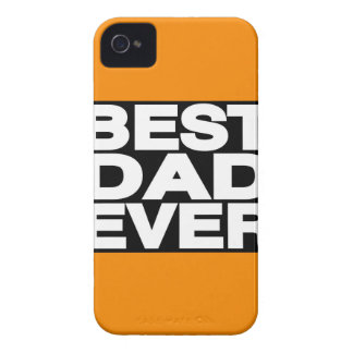 Best Dad Ever Lg Orange iPhone 4 Covers