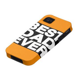 Best Dad Ever Lg Orange iPhone 4 Case