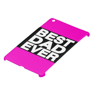 Best Dad Ever Lg Pink Case For The iPad Mini