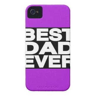 Best Dad Ever Lg Purple Case-Mate iPhone 4 Cases