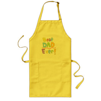 Best Dad Ever Long Apron